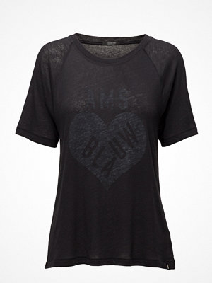 Scotch & Soda Boxy Fit Tee With Various Artworks