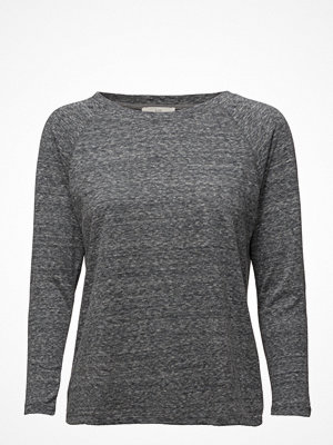 Lee Jeans 3/4 Sleeve Plain Tee Dark Grey Mele