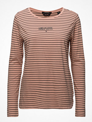 Scotch & Soda Long Sleeve Tee With French Inspired Artworks