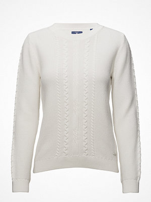 Gant O2. Light Chunky Cable Crew