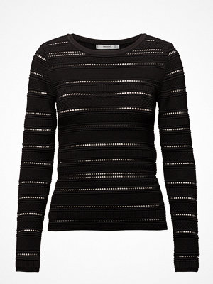 Mango Openwork Panel Sweater