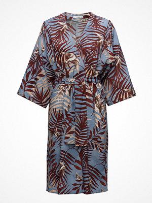 Mango Leaf Print Dress