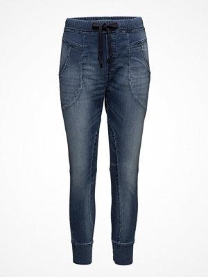 Please Jeans marinblå byxor Jogging Light Blue