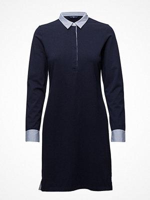 Gant O1. Solid Jersey Rugger Dress