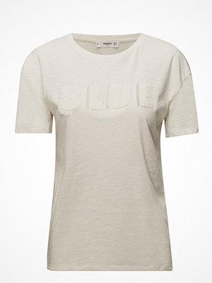 Mango Fringe Embroidery T-Shirt