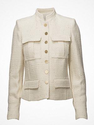Mango Buttoned Texture Jacket