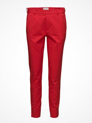 InWear röda byxor Ceri Tight Pant Hw