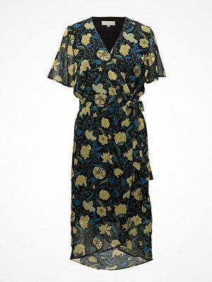 Selected Femme Sfnilli 2/4 Wrap Dress Ex