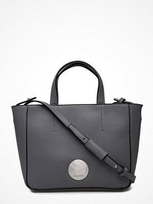 Calvin Klein grå shopper Olivia Mini Tote