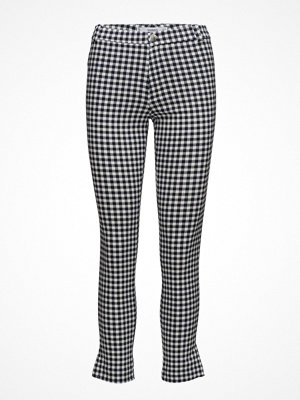 Mango rutiga byxor Slim-Fit Stretch Trousers