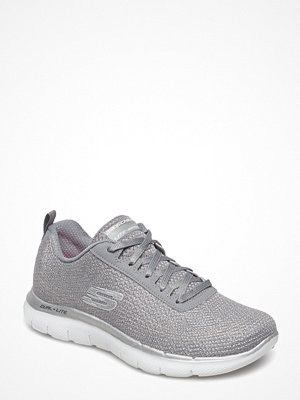 Skechers Womens Flex Appeal 2.0 - Metal Madness