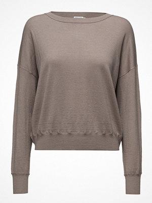 Filippa K Cropped Silk Mix Pullover