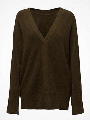 3.1 Phillip Lim Ls Sweater W Back V