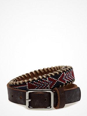 Hunkydory Nashoba Skinny Beaded Belt