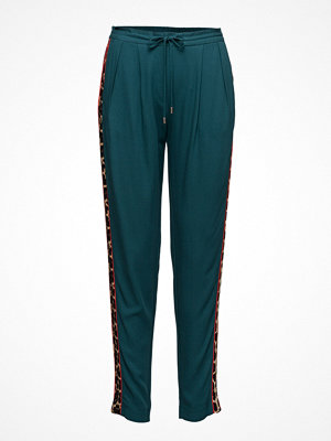Saint Tropez omönstrade byxor Pants With Leopard Stripe