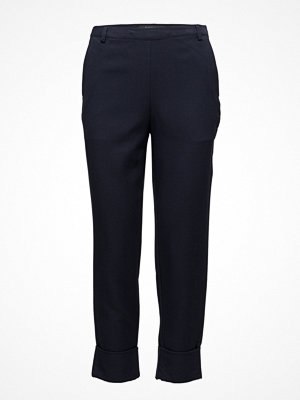 Soft Rebels svarta byxor Tie Pant