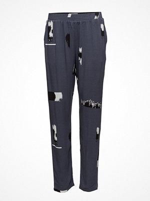 Minimum mörkgrå mönstrade byxor Hansigne