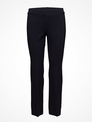 Filippa K svarta byxor Poe Cropped Jersey Pant