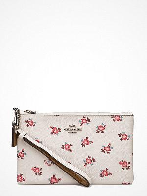 Coach mönstrad kuvertväska Floral Bloom Small Wristlet