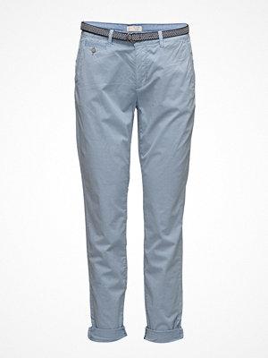 Esprit Casual himmelsblå byxor Pants Woven