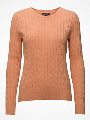 Park Lane Cable Pullover Crew Neck
