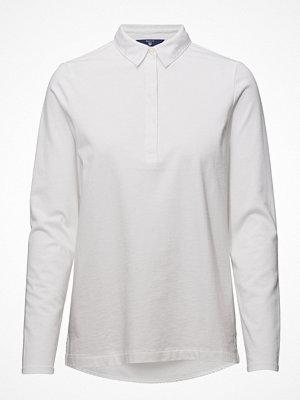 Gant O1. Heavy Rugger Jersey & Woven Mix