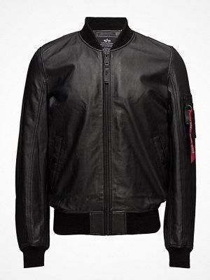 Skinnjackor - Alpha Industries Ma-1 Leather Lw Ii