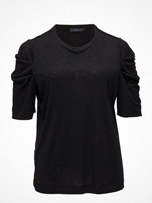 Violeta by Mango Gathered Sleeve T-Shirt