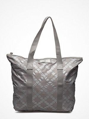 Day Et ljusgrå mönstrad shopper Day Gweneth P Reflect Bag