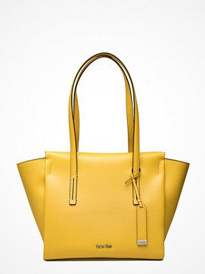 Calvin Klein Frame Medium Shopper gul