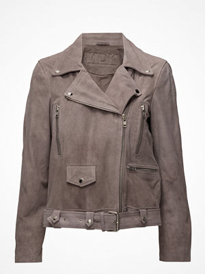 MDK / Munderingskompagniet Biker Oversize Suede Jacket (Mushroom)