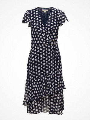 Michael Kors Simple Dot Wrap Dres