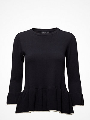 Park Lane Sweater With Flounce