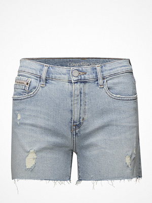 Calvin Klein Jeans Mid Rise Short Raw-B