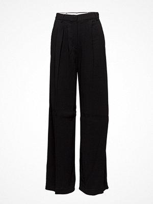 Mango svarta byxor High-Waist Suits Trousers