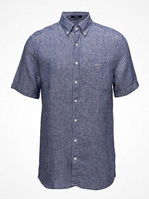 Gant The Linen Shirt Reg Ss  Bd