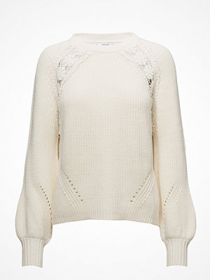 Mango Open Work-Detail Sweater