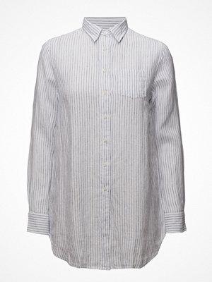 Gant O2. Striped Long Linen Shirt