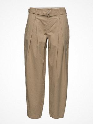 Filippa K omönstrade byxor Madison Belted Trousers