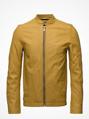Skinnjackor - Junk De Luxe Leather Rider Jacket