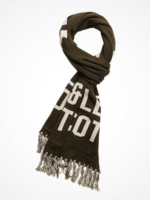 Halsdukar & scarves - Lyle & Scott Knit Text Scarf
