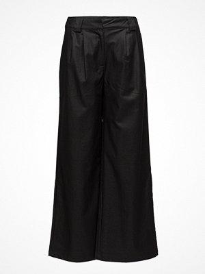 Soft Rebels svarta byxor Rebecca Wide Pants