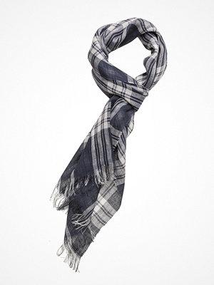 Halsdukar & scarves - Gant O1. Linen Check Scarf