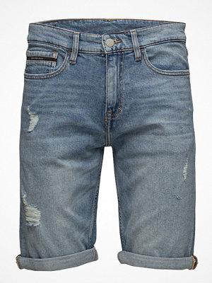 Calvin Klein Jeans Slim Shorts - Sydney Blue Dstr Cmf