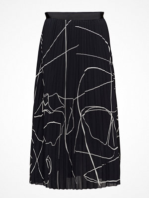 Filippa K Printed Plisse Skirt