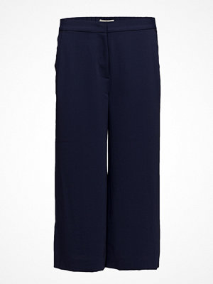 Gant marinblå byxor G2. Cropped Flared Pants