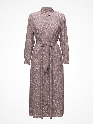 French Connection Elao Drape Long Sleeve Shirt Dress