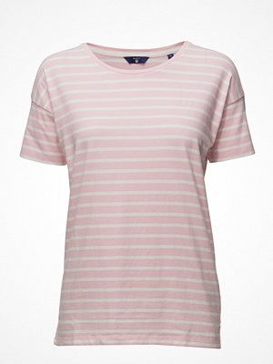 Gant O. Dropped Shoulder Striped T-Shirt