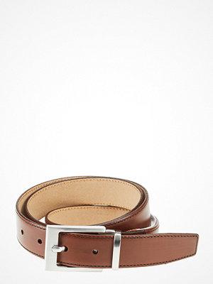 Bälten & skärp - Selected Homme Slhbaxter Leather Belt Noos B
