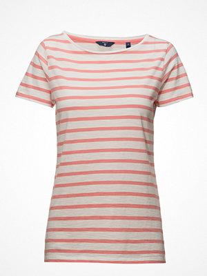 Gant O2. Breton Stripe Ss T-Shirt